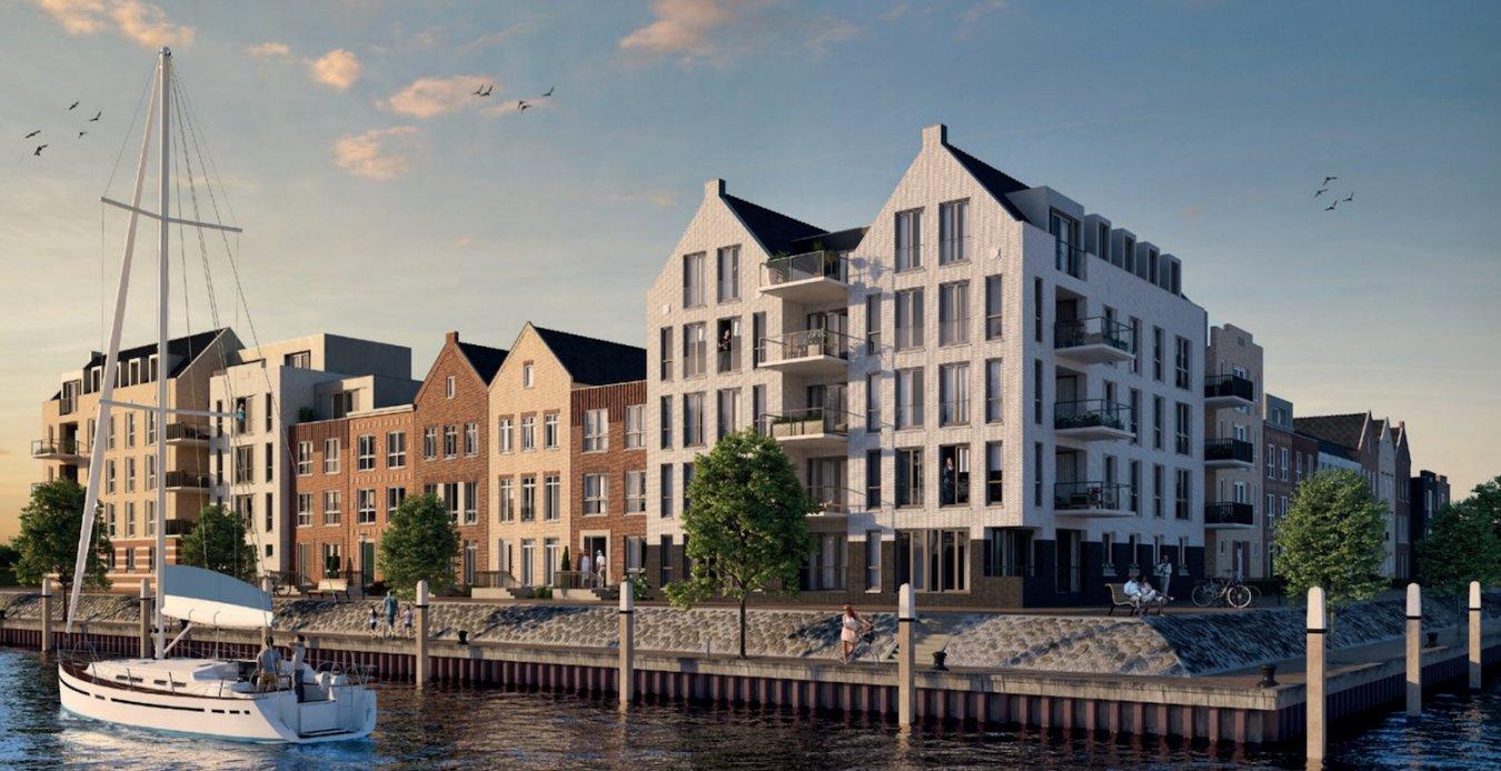 De laatste woningen in SLUIS (Haven Spijkenisse ...
