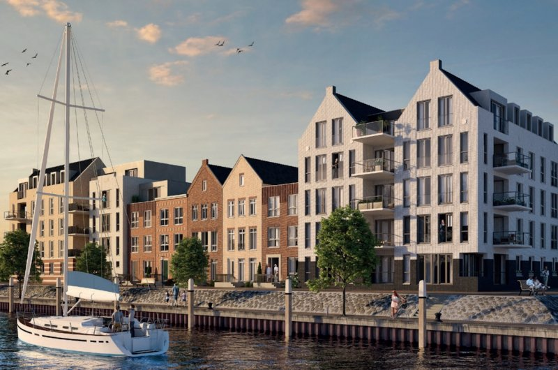 Nog diverse riante woningen te koop in SLUIS, in De Haven ...